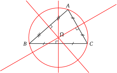 Triangle Cerclecirconscrit