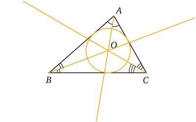 Triangle Cercleinscrit